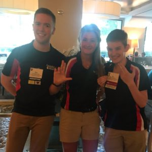 ASCE Student Officers Win/Place at ASCE CI Competition