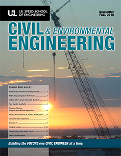 Department of Civil & Environmental Engineering Newsletter Fall 2018