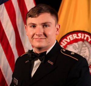 Jacob Newberry commissioned to U.S. Army National Guard