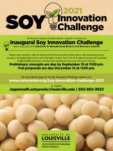 Soy Innovation Challenge Poster