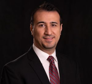headshot of Omid Ghasemi-Fare